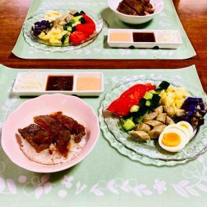野菜たっぷり丼と、ドラマ♡TOKYO MER/ナイトドクター⑨話の感想