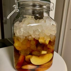 梅酒の予定がっ!!結局、ブランデーでリンゴ酒を作った話。。。