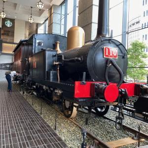 桜木町で日本の鉄道開業当時の蒸気機関車が見られる!!