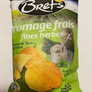 【Bret'sポテチ フロマージュ&ハーブ】日本のポテチとはちょっと違う味。。