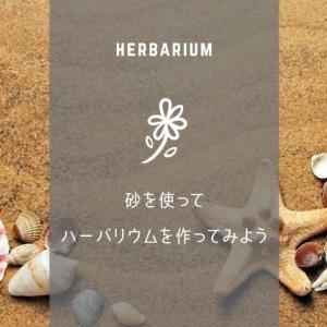ハーバリウムに砂を入れても良いの?入れ方のコツや注意点をご紹介