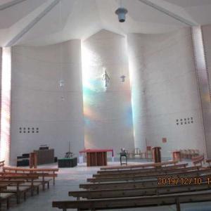 寺院の内部見学