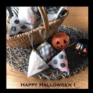 ハロウィン。可愛いお菓子のラッピング。