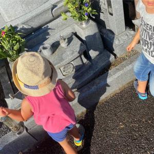 家族 で お墓掃除