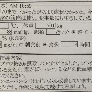 糖尿病 検診 令和2年9月