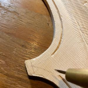 表板 パフリング 溝彫り