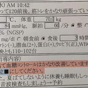 糖尿病検診 令和3年6月