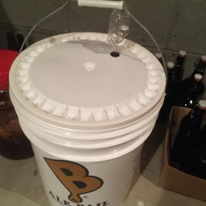 年末のビール仕込み