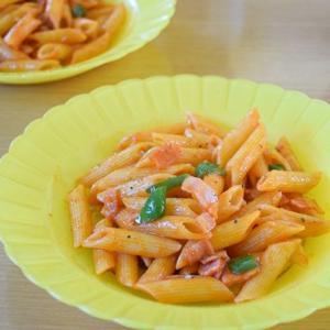 『ペンネのナポリタン』ってスパゲッティを使うより美味しい気がする