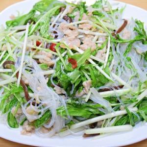 タイ風『春雨と水菜のサラダ』