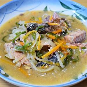 鯖の水煮の缶詰を使って『鯖の南蛮漬け』