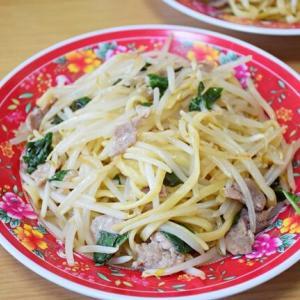 簡単で美味しい タイの汁無し麺風『バジル焼きそば』