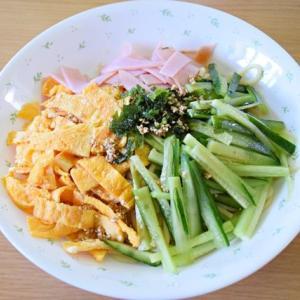 暑い日はオーソドックスでお手軽な自家製冷麺(冷やし中華)