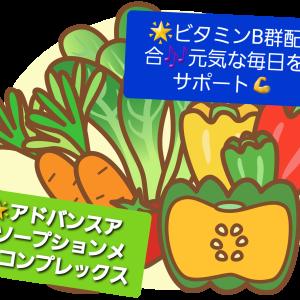 ☆彡ビタミンB群配合の元気をサポートするサプリメント!