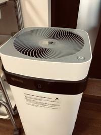 空気清浄器と10月の定休日