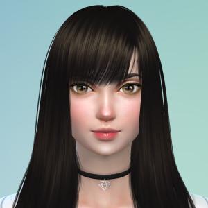 Sims4で自分好みの子を作ろう!(シム製作過程)