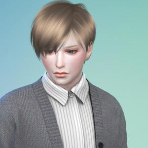 Sims4で自分好みの男子を作ろう!(シム製作過程) #sims4