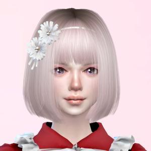 Sims4 自分好みの女の子を作ろう(シム制作過程)