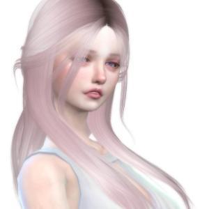 Sims4 自分好みの可憐な少女を作ろう(シム製作過程)