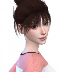 Sims4 自分好みの元気系女子を作ろう(シム製作過程)