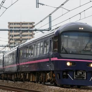 """成田臨の485系""""華""""を高崎線で撮る(2020.1.26)"""