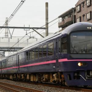 485系「華」を高崎線で撮る(2020.2.29)