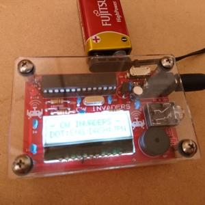 CWインベーダーとMIZUHOのベビー電鍵BK-1