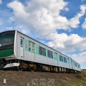 烏山線と快速「足利イルミネーション」を撮りに行く (2020.12.19)