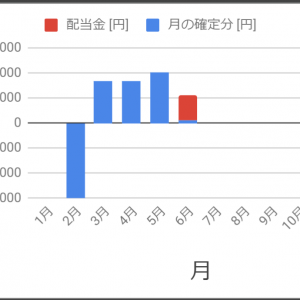 株 2019/6/24~ / 6月の結果 / これまでのまとめ