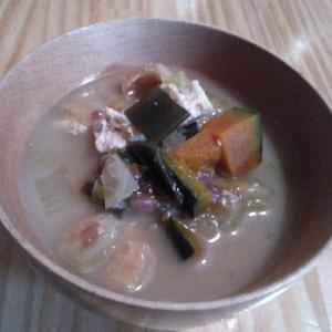 葛スープに煮物に夏越えの味噌たち。めぐりくる秋味の食卓