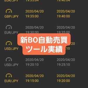 新BOツール収支報告04/21