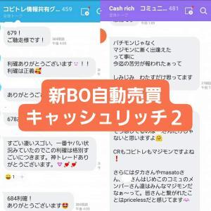 新BOツールCashRich(キャッシュリッチ)収支報告06/13