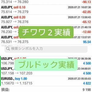 新FXツール収支報告07/24