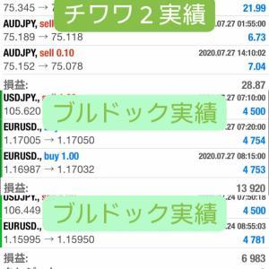 新FXツール収支報告07/29