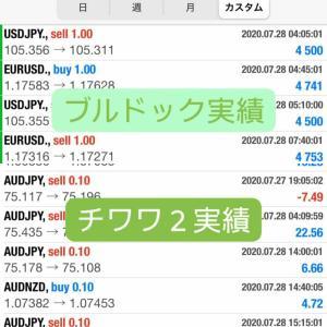 新FXツール収支報告07/30