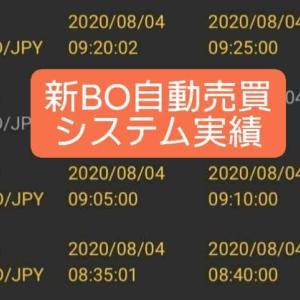 新BOキャッシュリッチ2収支報告08/05