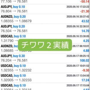 新FXツール収支報告09/19