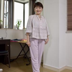 【50代コーデ】ウェーブコーデ、サロンの春夏のお洋服で季節の移り変わりを楽しむ!