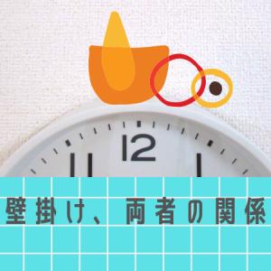 【浮かしライフ史上・・】無印の壁掛け時計にまつわる、1番ショックだった出来事。アレが隠れてなーい!カンタンな対処法も。