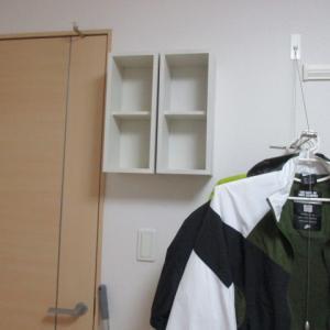 【無印・壁に付けられる家具】出すがさキロク。増から減の方向で。次の収納スタイルに向けて、見切り発車しました。