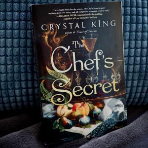 16世紀のバチカンに実在した「元祖セレブリティシェフ」の危険な恋の物語 The Chef's Secret (Crystal King)