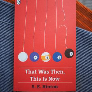 今こそ読むべき70年代の青春小説 That Was Then, This Is Now (S. E. Hinton)