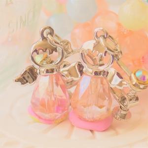 ハンドメイド 双子の天使のイヤリング