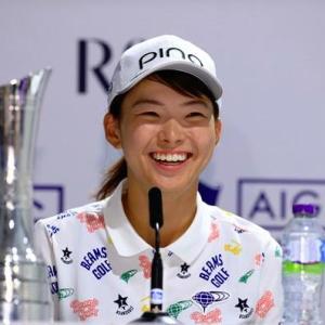 渋野日向子が全英女子オープンで優勝!日本人42年ぶりの快挙達成!
