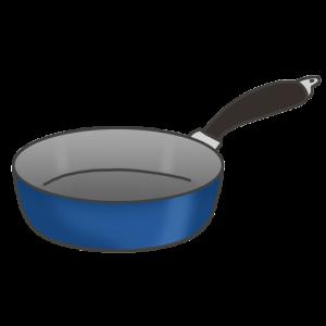 フライパンのイラスト