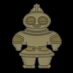 土偶のイラスト