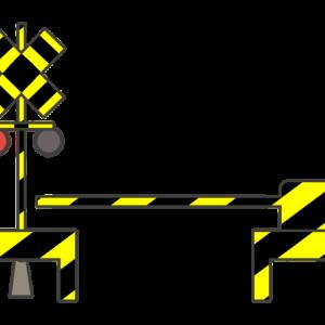 踏切のイラスト