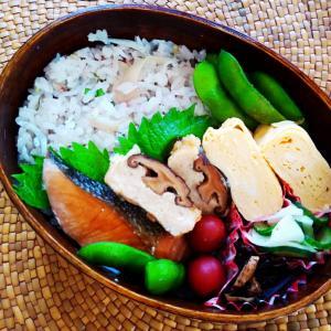 しらすと生姜の混ぜご飯弁当(酢飯だよ♪)