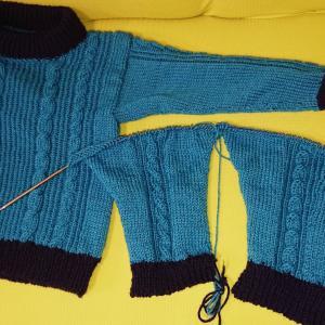 セーター進捗と次に編みたいもの