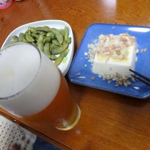 ビールに枝豆